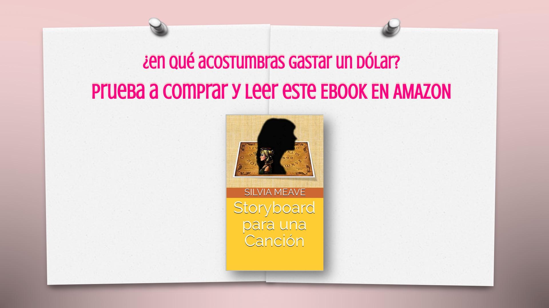 Promo #StoryboardParaUnaCanción en Amazon
